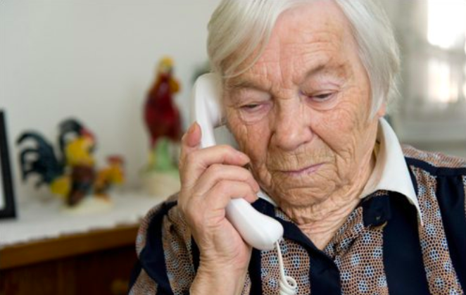 "Seniors are especially vulnerable to phone scammers. (Photo: <a gref=""https://www.fbi.gov/news/stories/2012/april/grandparent_040212"">The FBI</a>)"