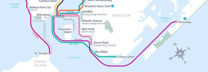 Screenshot: NYC Ferry
