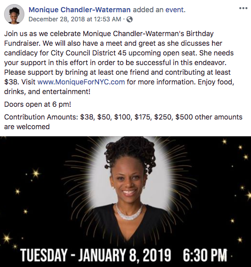 Founder/CEO East Flatbush Village Monique Waterman (Screenshot - Facebook)