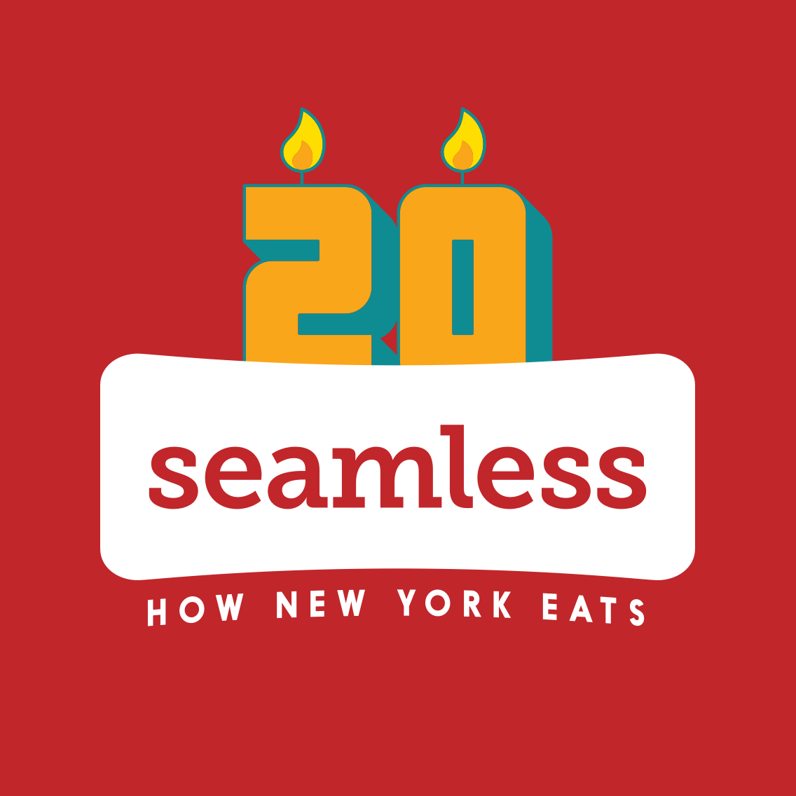 Seamless is celebrating 20 years in business with a contest.