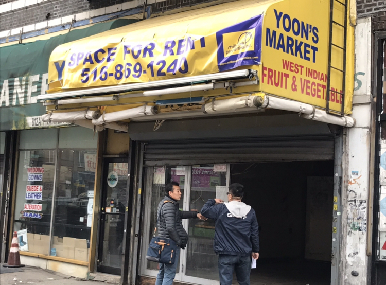 Yoon's Market, at 812 Franklin Avenue closed two months ago. The fruits and vegetable stand served Crown Heights residents for at least three decades.