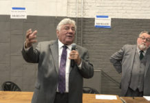 Kings County Democratic Committee Chair Frank Seddio (Kadia Goba/Bklyner)