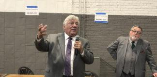 Kings County Democratic Committee Chair Frank Seddio (Kadia Goba/Bklyner)