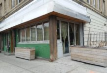 Oyo's Bar and Grill (formerly Summerhill) at 637 Nostrand Avenue.