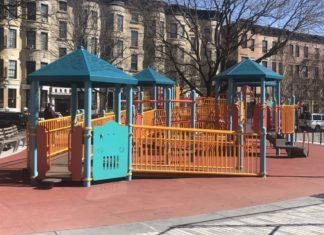 Elijah G. Stroud Playground (Photo: Kadia Goba/Bklyner)