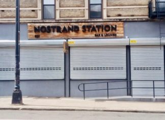Nostrand Avenue Bar & Lounge at 818-822 Nostrand Avenue (Photo credit: Roger Myers)