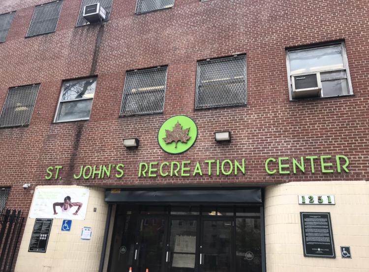 St. John's Recreational Center Photo: Kadia Goba/Bklyner