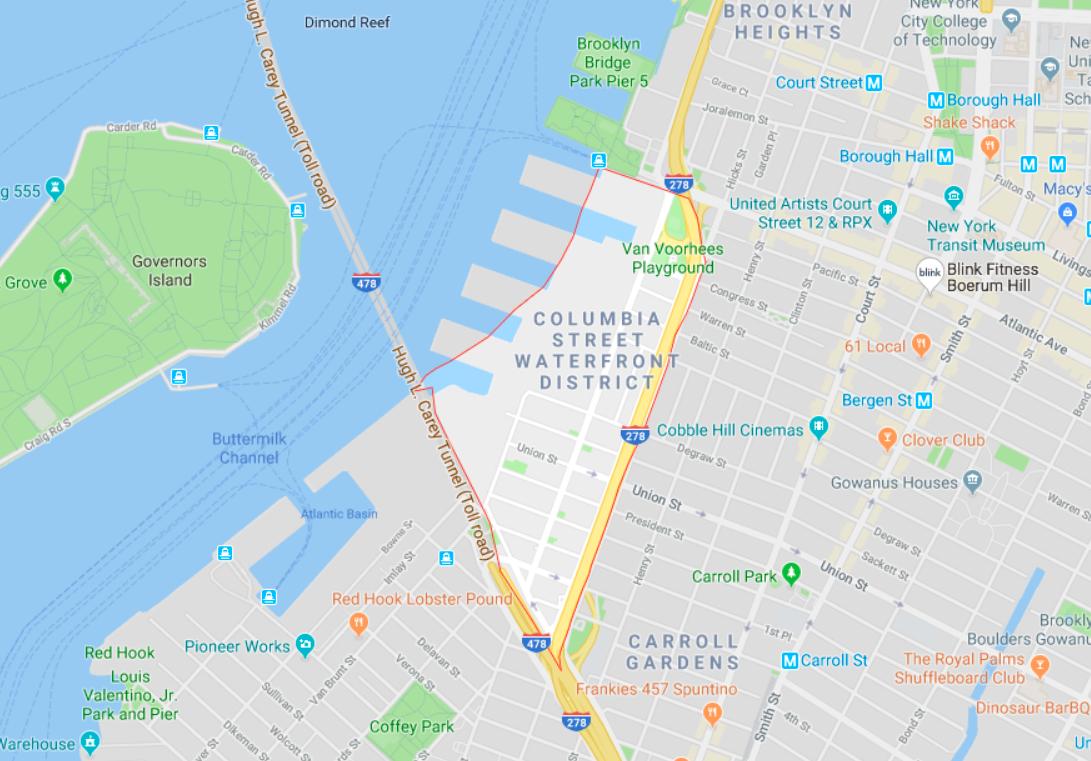 Brooklyn Neighborhoods With Subway Map.Brooklyn S Priciest Neighborhoods Columbia Street Waterfront Dumbo