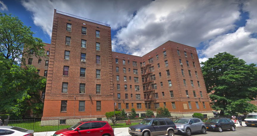 1402 Brooklyn Avenue - Flatbush Gardens (Formerly knows as Vanderveer Estates) Photo: Screenshot Google Maps