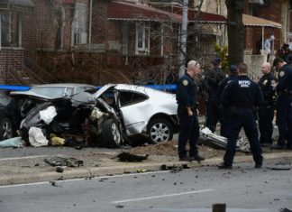 Second fatal crash due to speed on Kings Hwy. (Photo: Todd Maisel/Bklyner)