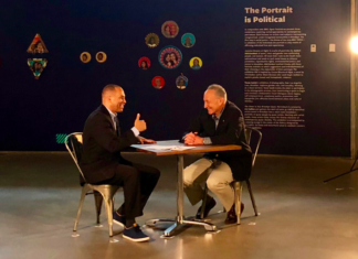 """(From left to right) U.S. Rep. Hakeem Jeffries and U.S. Sen. Charles """"Chuck"""" Schumer at BRIC shooting a video to promote the decriminalization of marijuana. (Photo: Courtesy of the offices of Jeffries and Schumer)"""