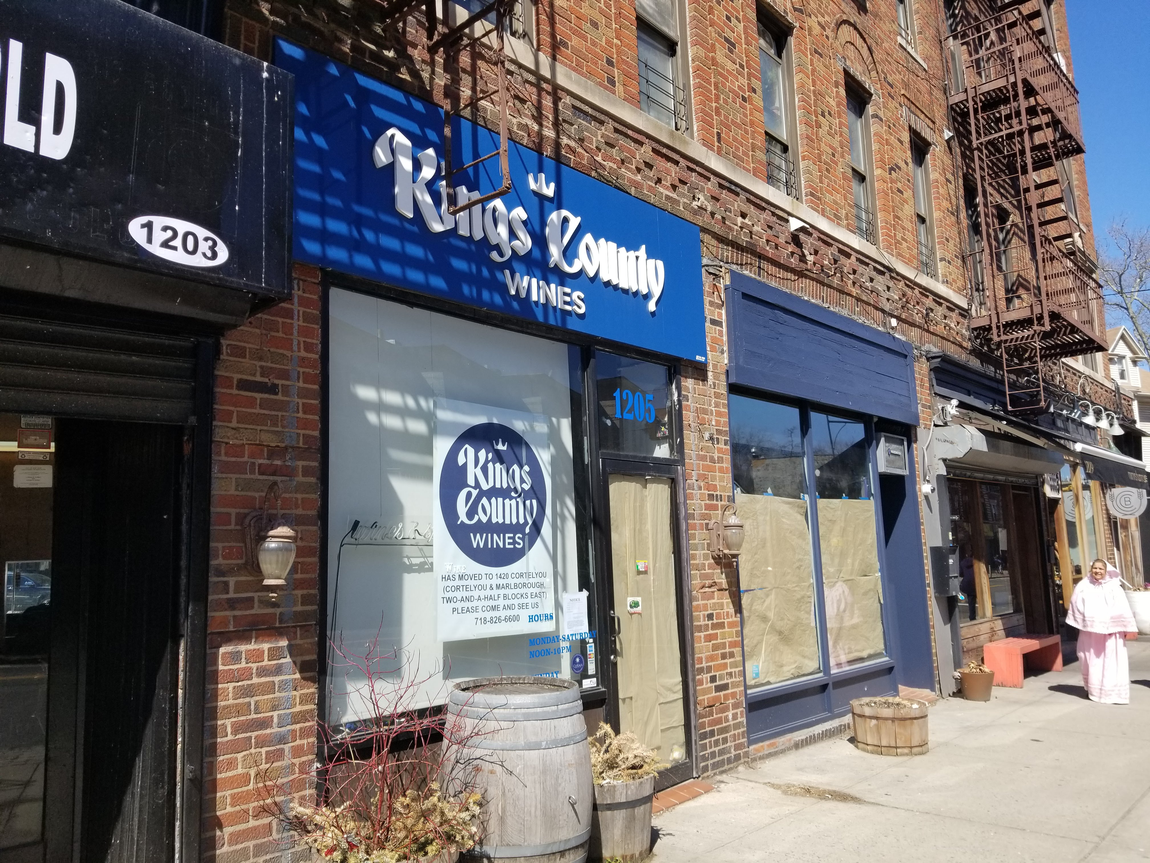 Kings County Wines formerly at 1205 Cortelyou Rd. (Liena Zagare/Bklyner)