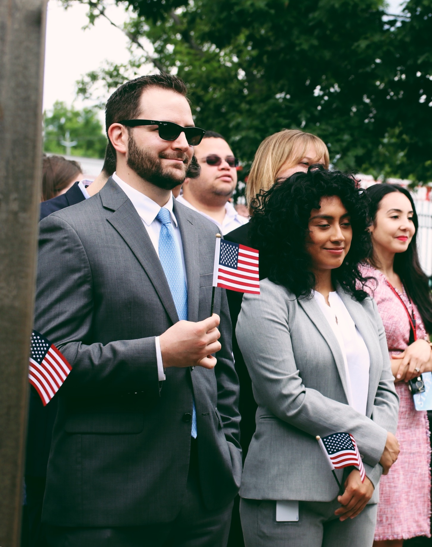37 Brooklynites Become U S Citizens On Flag Day At Wyckoff