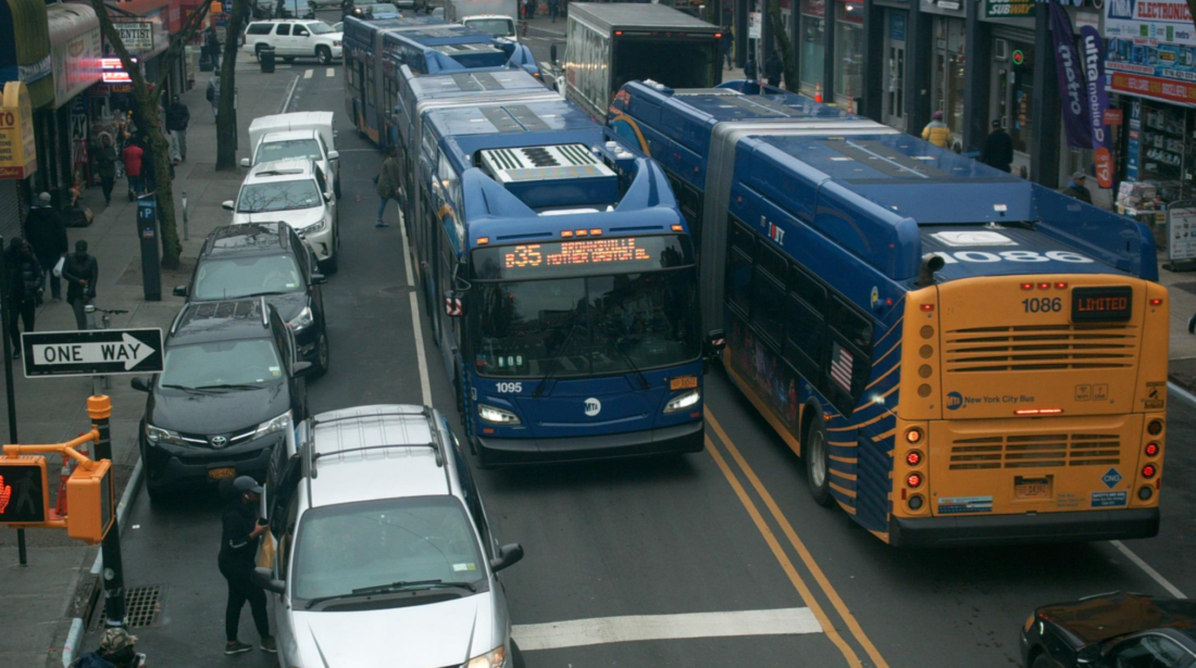 DOT Proposes Dedicated Bus Lanes And Parking Changes Along