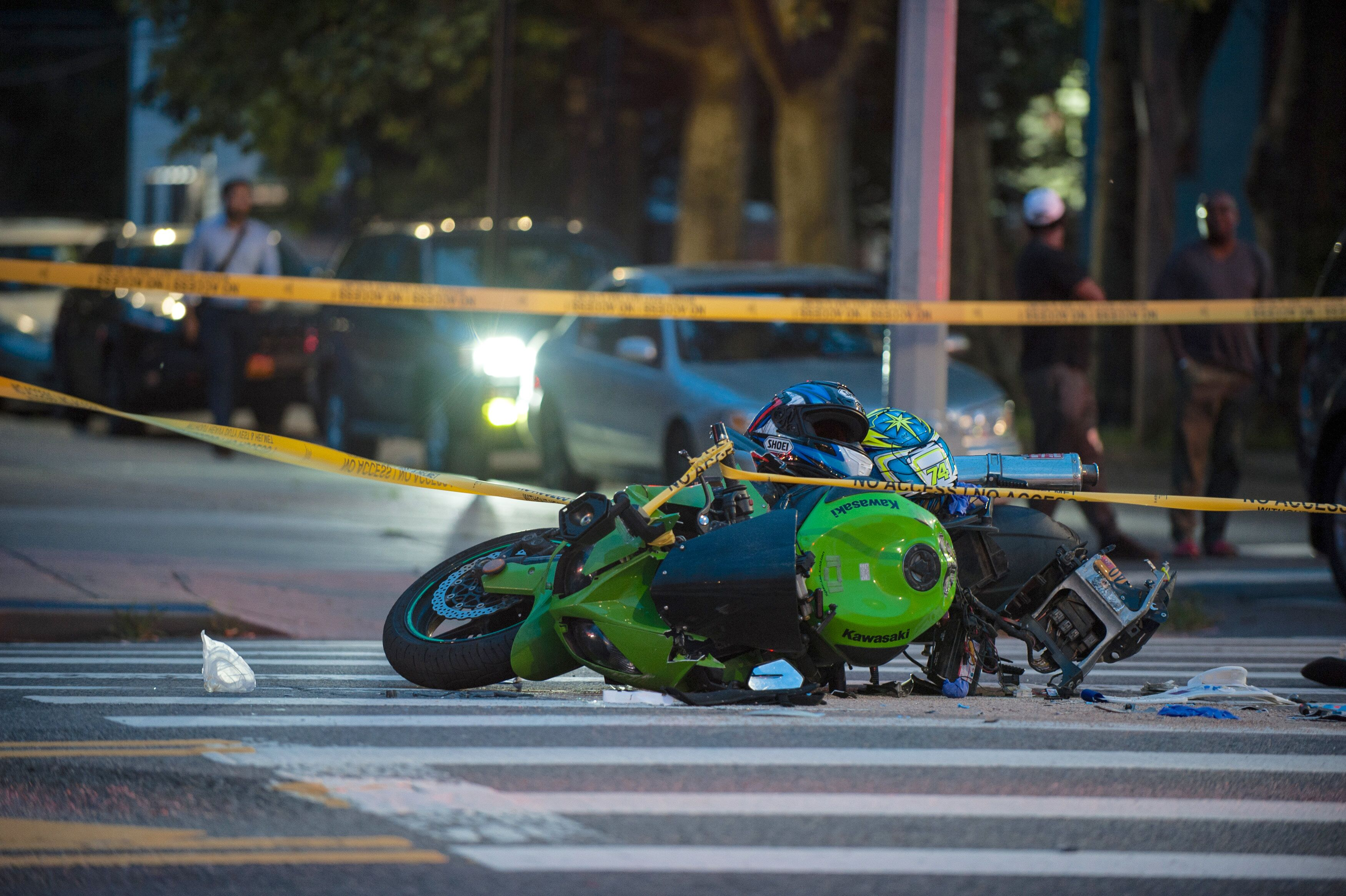 Two Motorcyclists Crash In Southern Brooklyn: One Killed