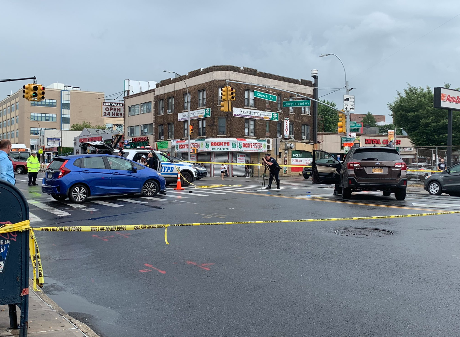 Pedestrian Killed After Car Strikes Her Then Collides With