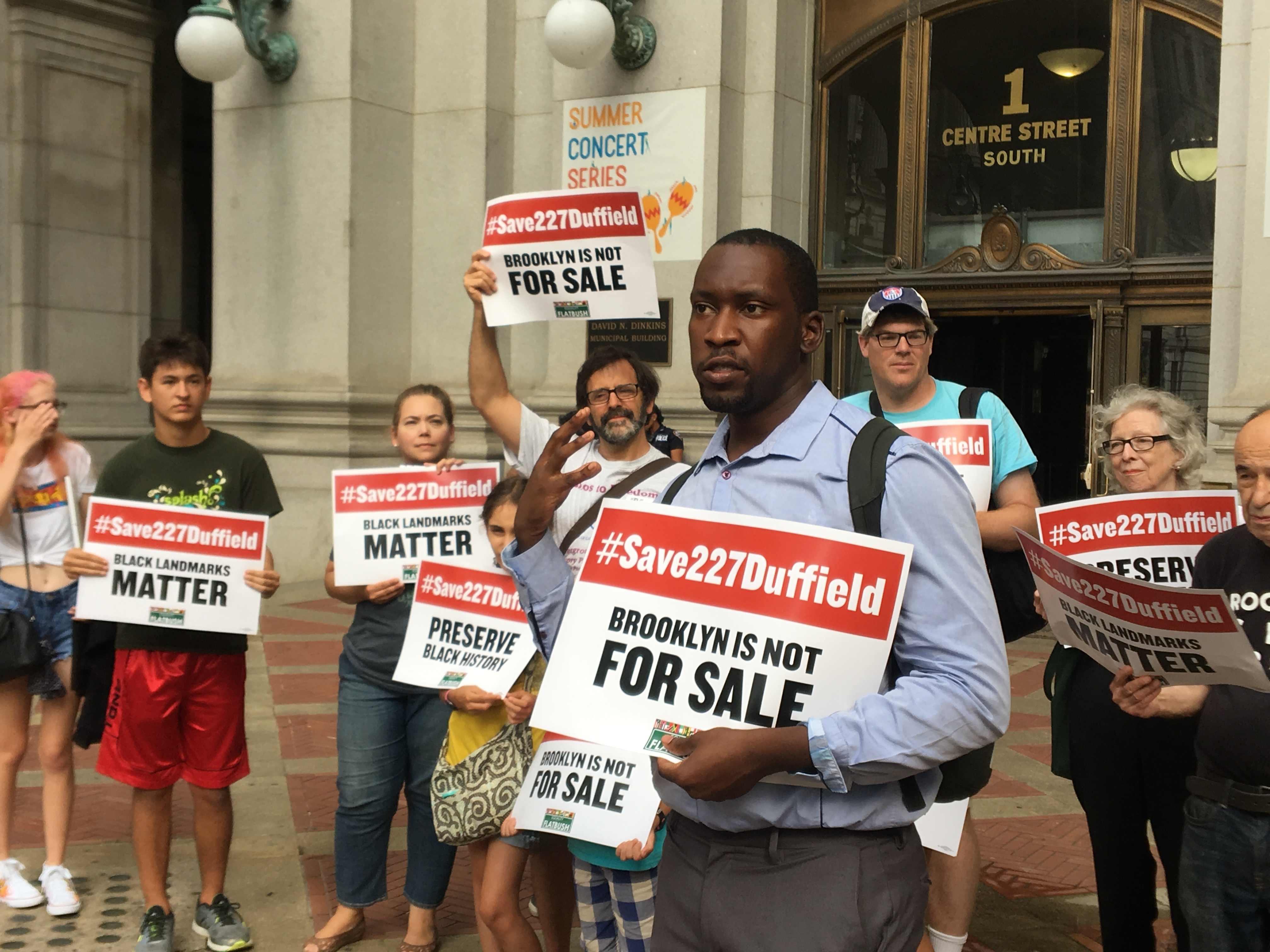 Protesters Continue Fight To Save Downtown Home Of Abolitionists