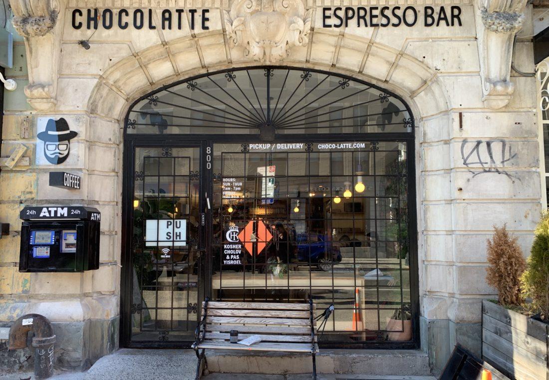 Exterior of Chocolatte. Rachel Baron/Bklyner.