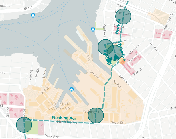 BQX map Navy Yard 2020 via DOT