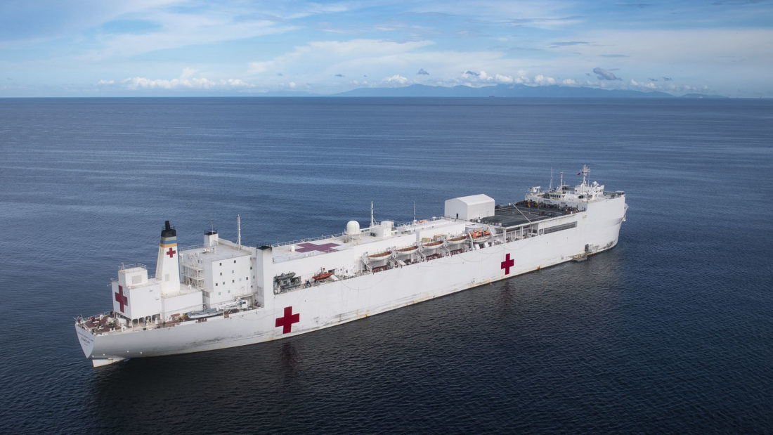 Update Usns Comfort Hospital Ship Coming To New York To Combat
