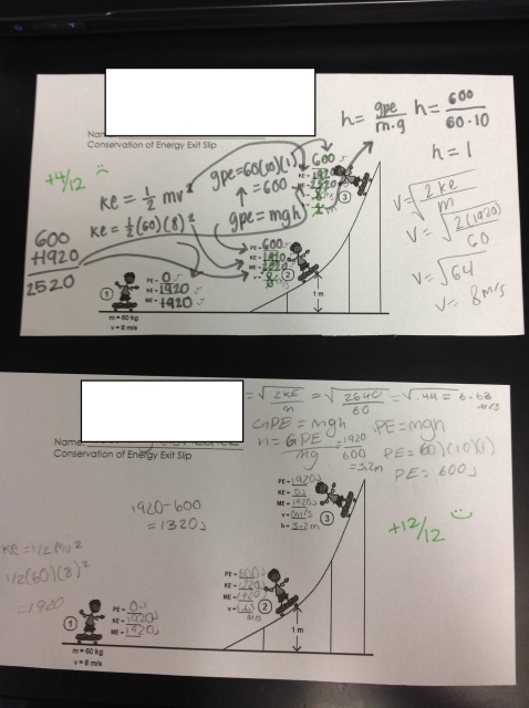 Tenth Grade Lesson Quantitative Conservation Of Energy Part 2