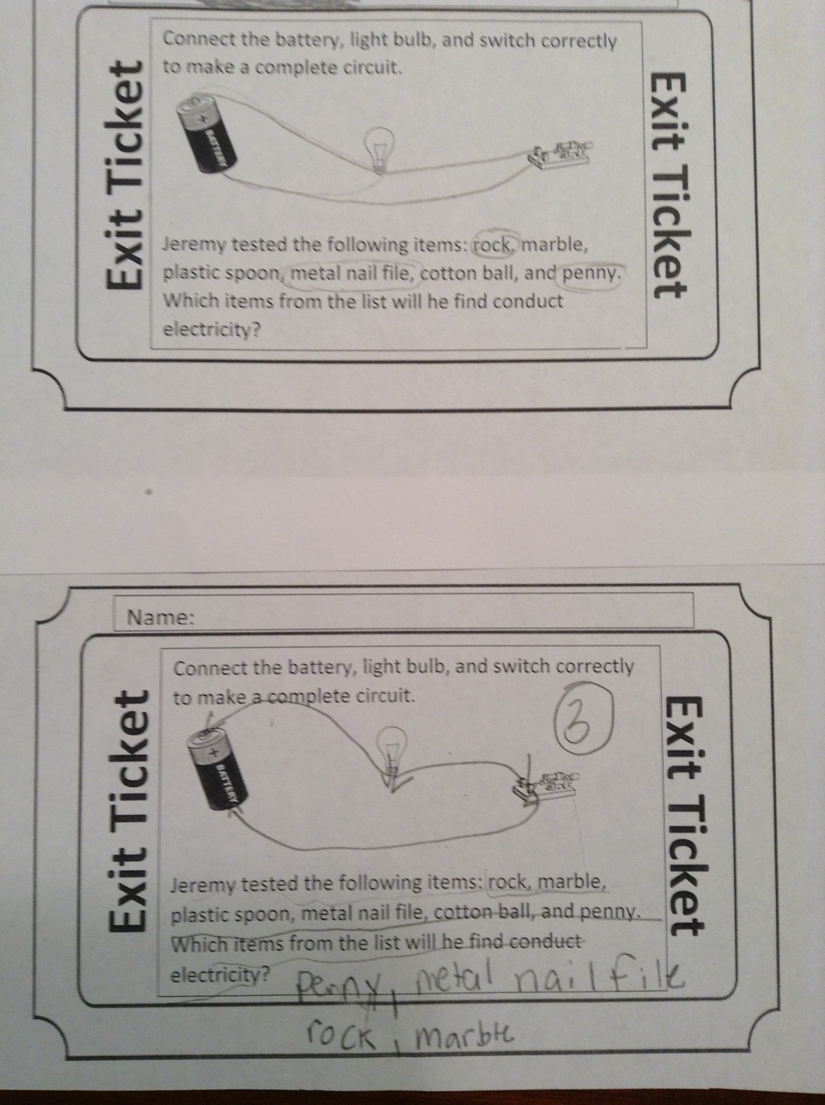 Fifth grade Lesson Electrical Conductors | BetterLesson