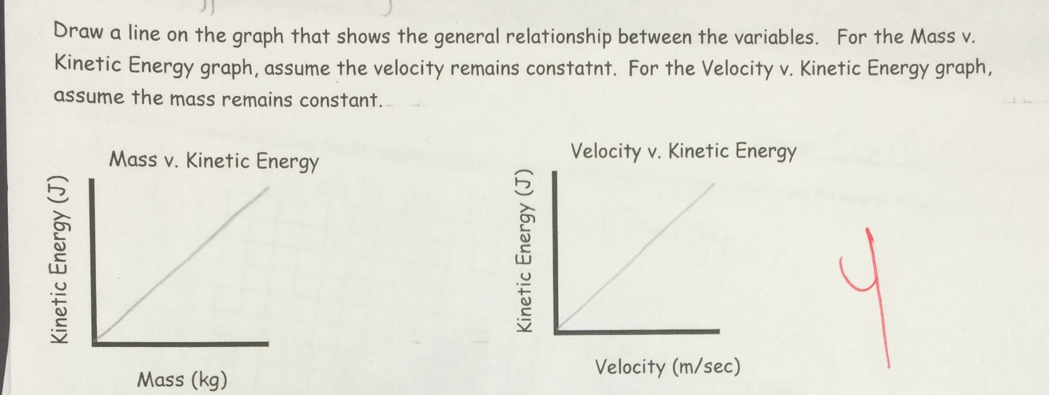 worksheet Potential Vs Kinetic Energy Worksheet lesson kinetic and potential energy lab rotation betterlesson as mass velocity increase the will well the