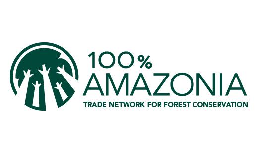 Logo for 100% Amazonia