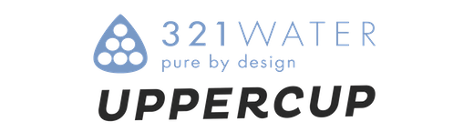 Logo for Uppercup & 321Water