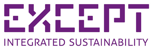 Logo for Except Integrated Sustainability