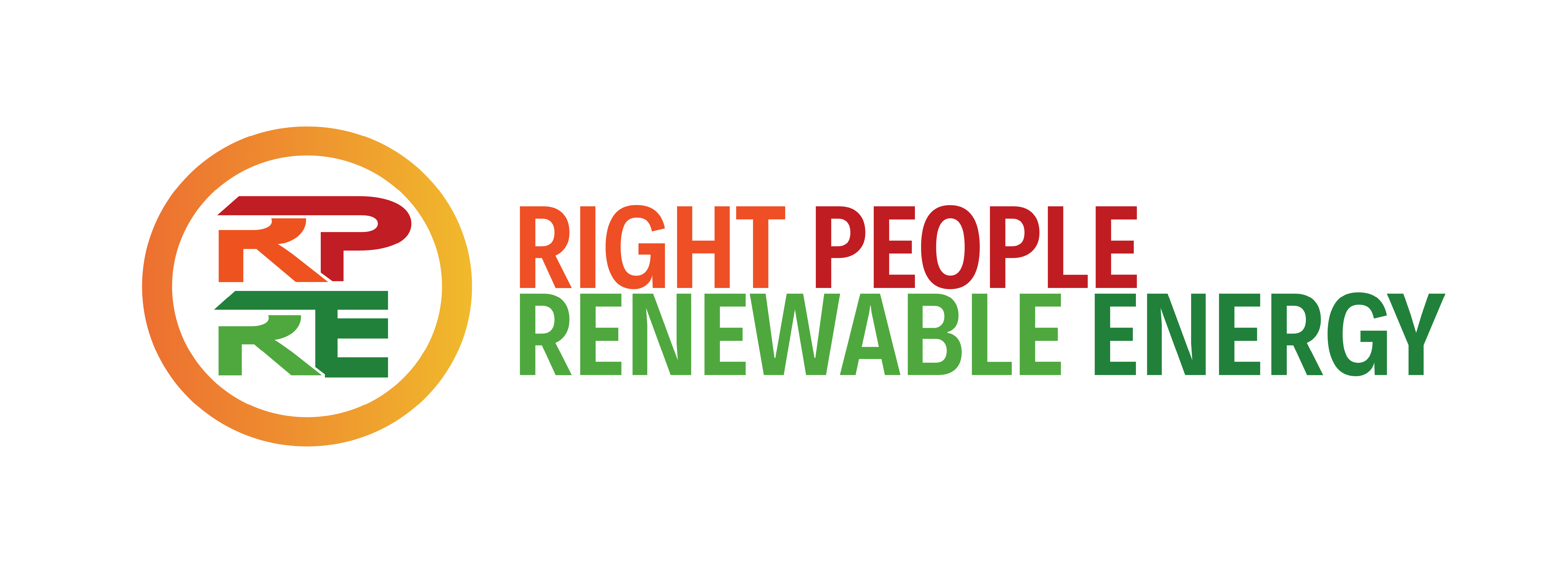 Logo for Right People Renewable Energy