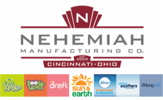 Logo for Nehemiah Manufacturing Company