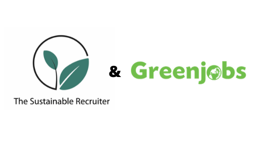 Logo for The Sustainable Recruiter & Greenjobs