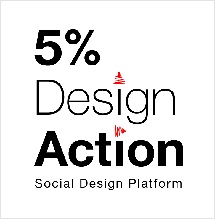 Logo for 5% Design Action