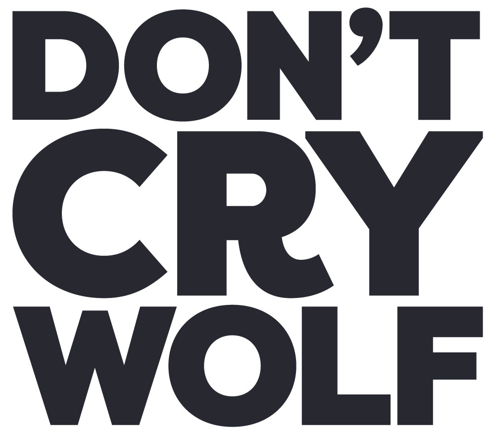 Logo for Don't Cry Wolf