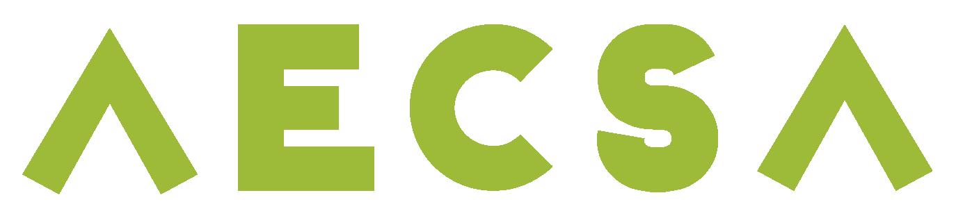 Logo for AECSA. ABOGADOS ESPECIALIZADOS EN COBRANZAS S.A.