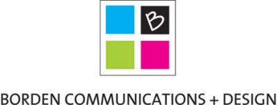 Logo for Borden Communications + Design Inc.
