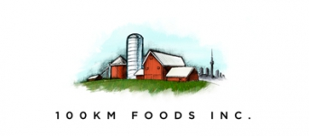Logo for 100km Foods Inc.