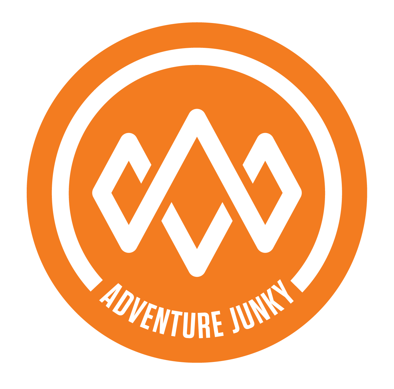 Logo for Adventure Junky