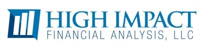 Logo for High Impact Financial Analysis, LLC