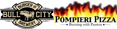 Logo for Pie Pan, Inc. DBA Bull City Burger and Brewery & Pompieri Pizza