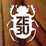 Logo for ZEBU Mídias Sustentáveis