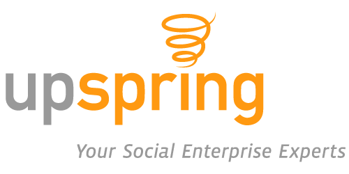 Logo for UpSpring