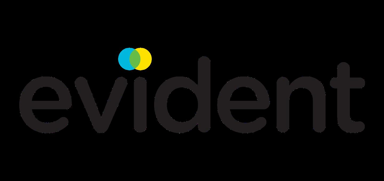 Logo for Evident