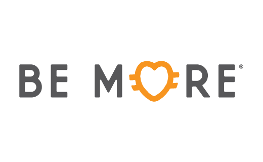 Logo for BE MORE Inc.