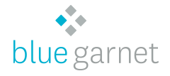 Logo for Blue Garnet
