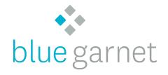 Logo for Blue Garnet