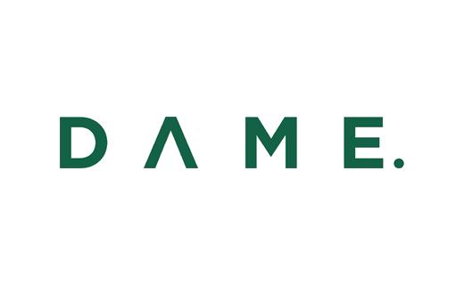 Logo for DAME.