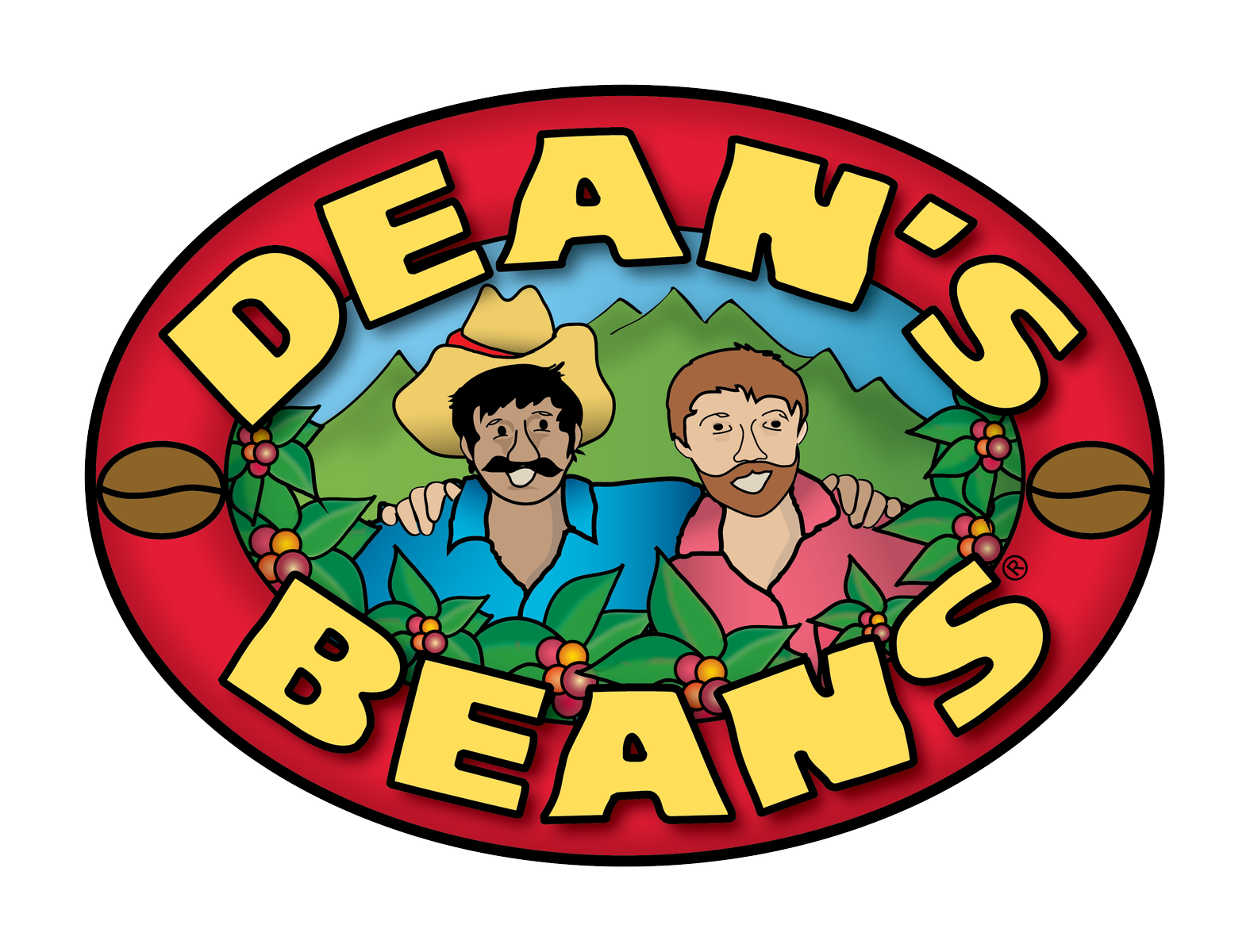 Logo for Dean's Beans Organic Coffee Company