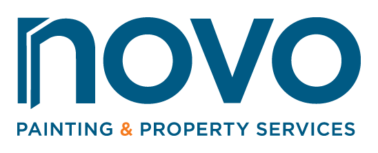 Logo for NOVO Painting & Property Services LLC
